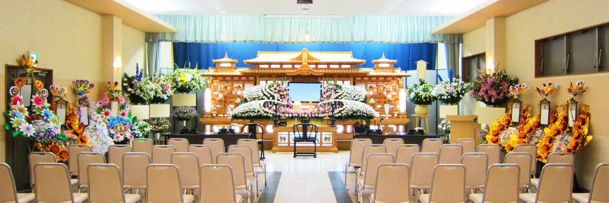 式場の写真