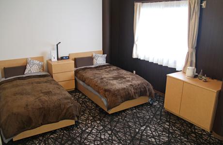 ベッドルームの写真